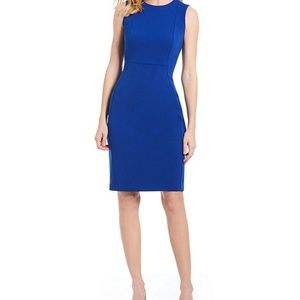 Calvin Klein Women's Seam Front Sheath Dress 4